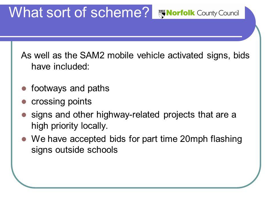 What sort of scheme.