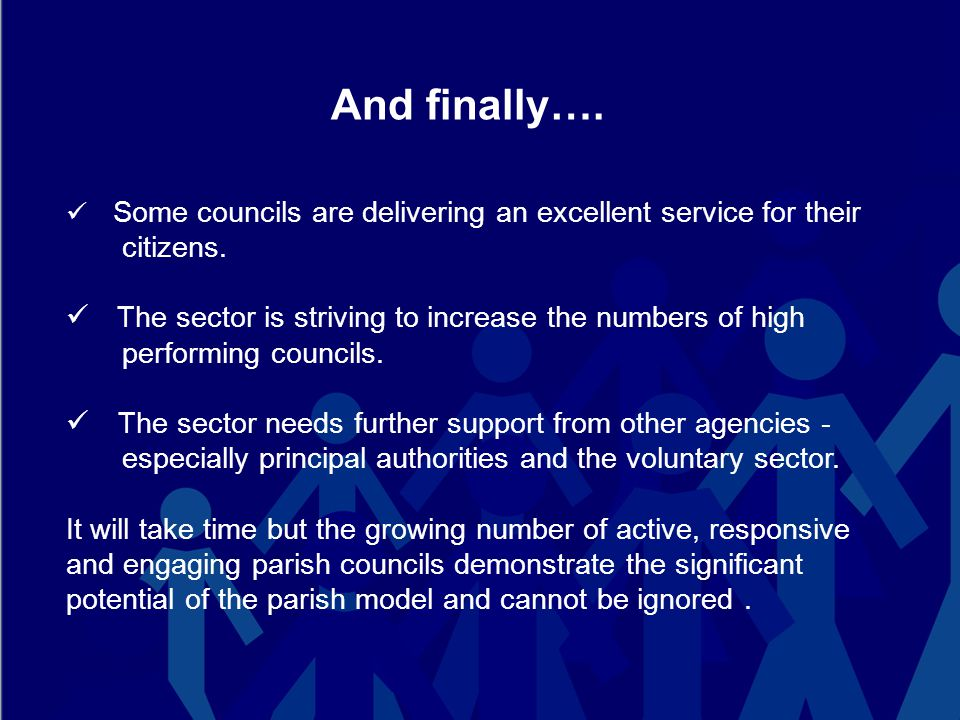 And finally…. Some councils are delivering an excellent service for their citizens.