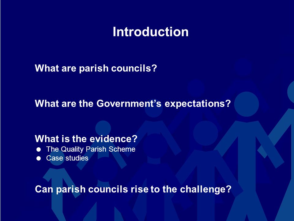 What are parish councils.