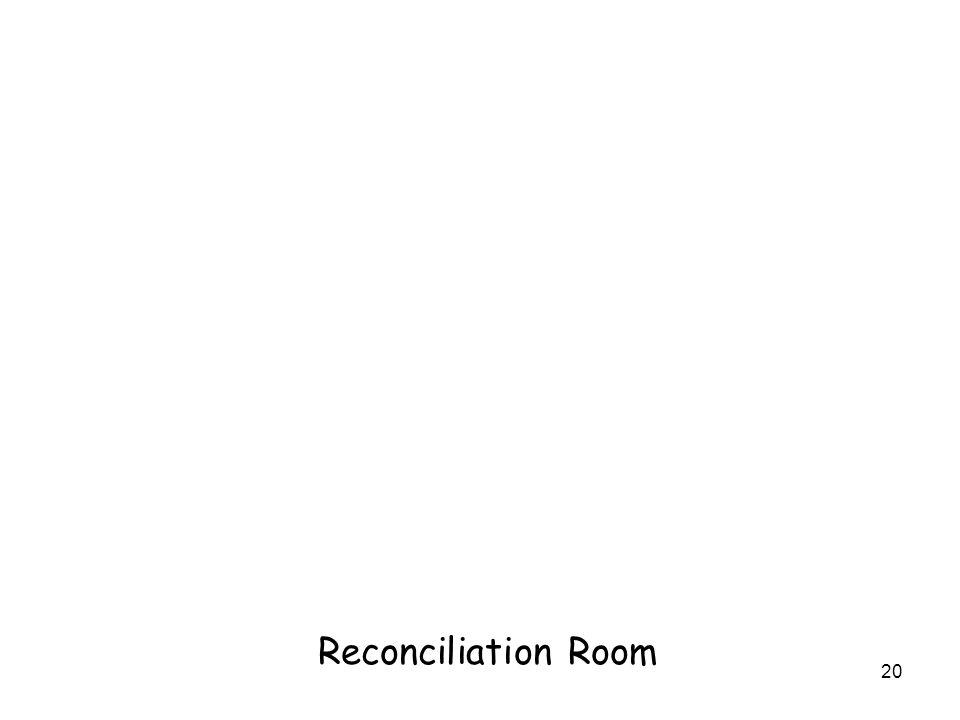20 Reconciliation Room