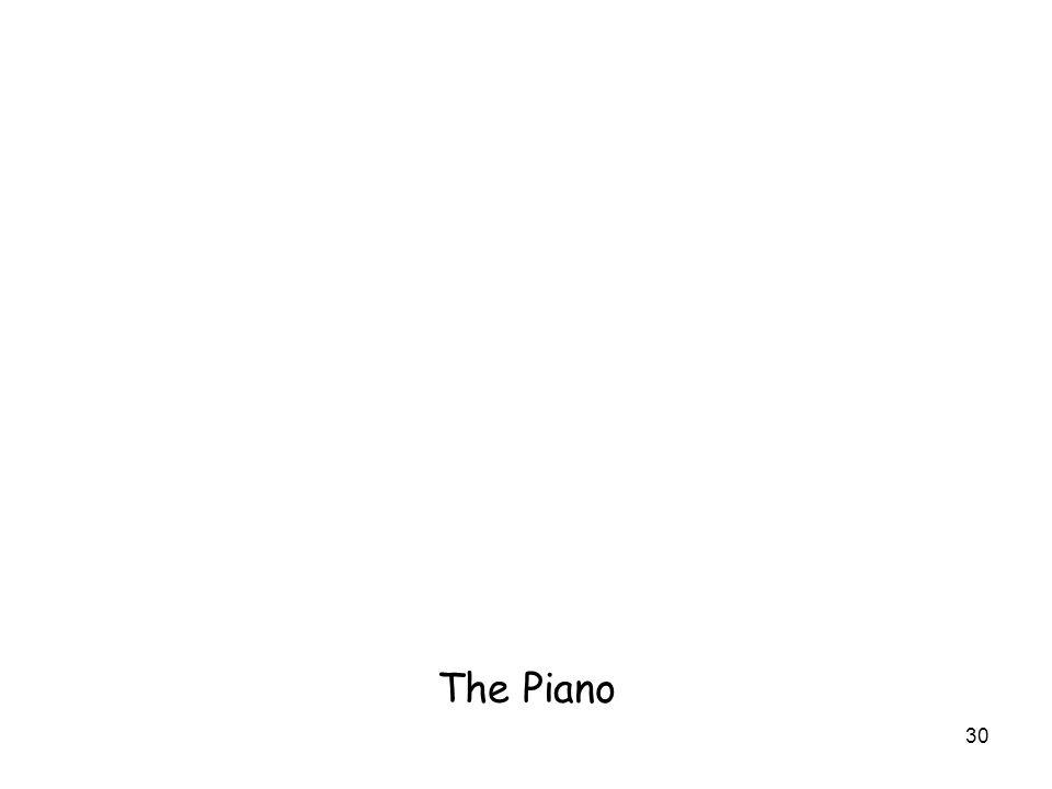 30 The Piano