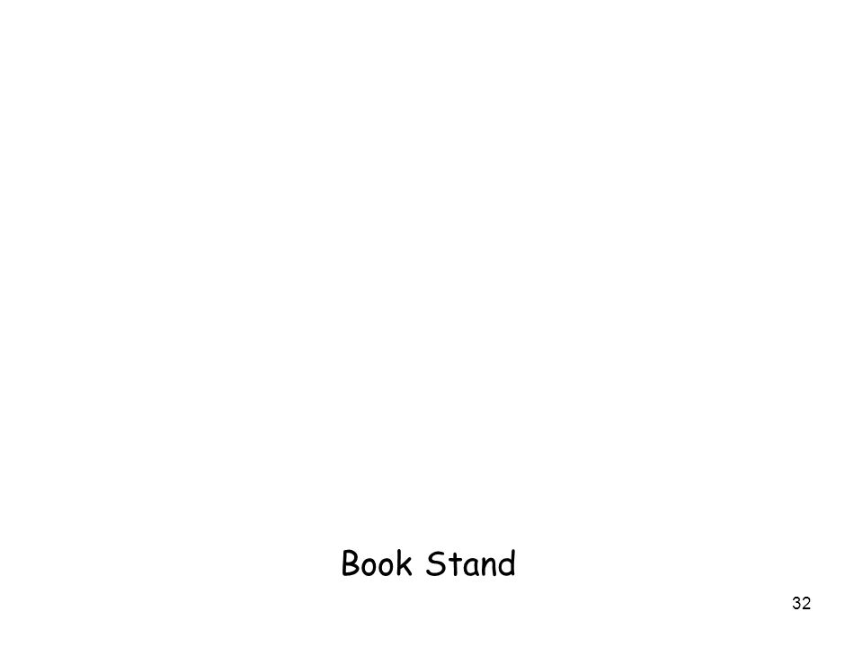 32 Book Stand