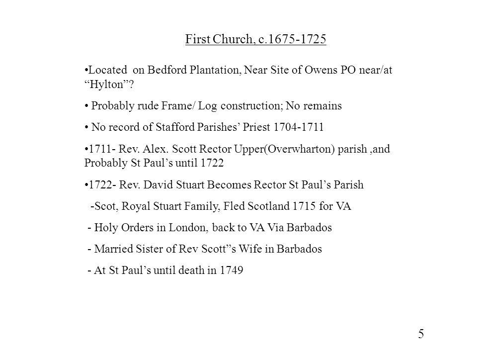 Chancel, Aquia Church 16
