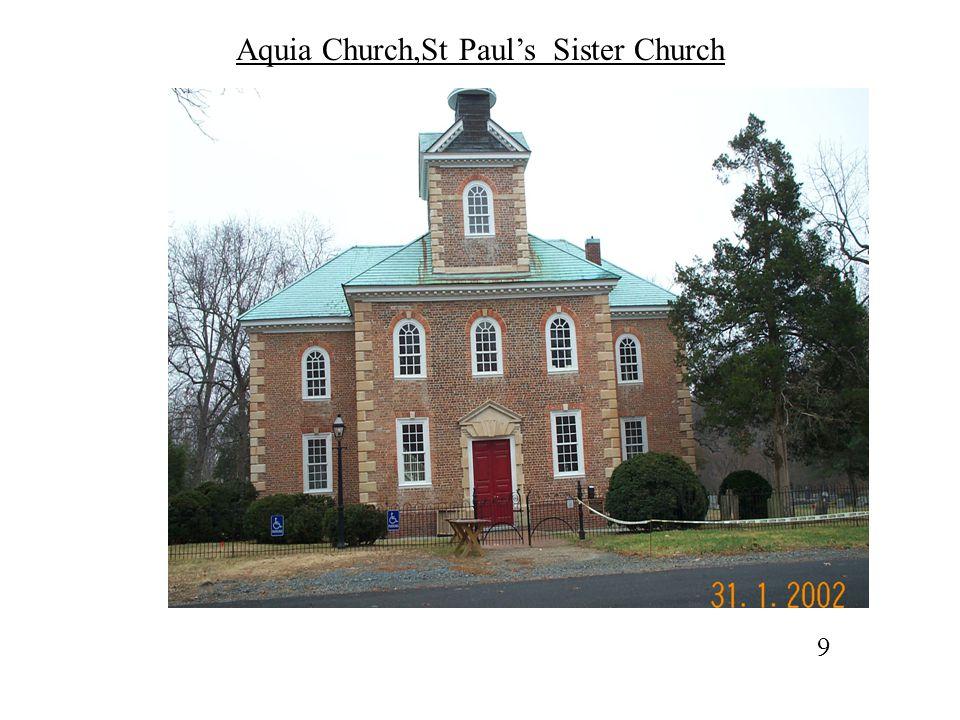 West (Main )Entry Door, Aquia Church 20
