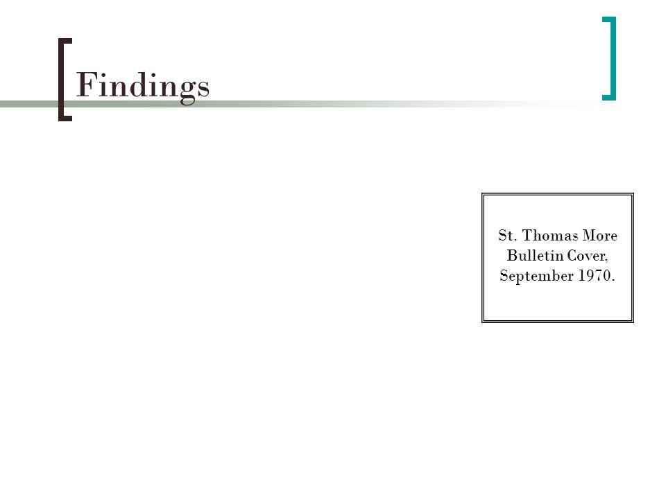 Findings Table 1.