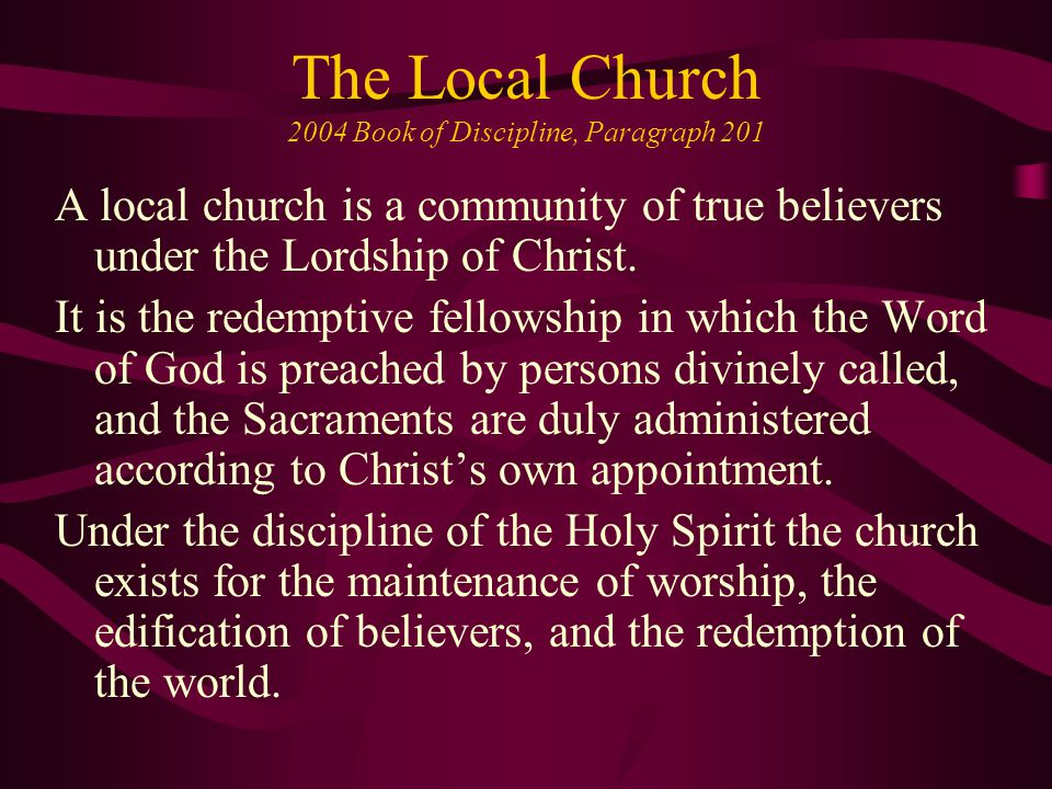Recruitment Within The United Methodist Church, there are those called to servant leadership, lay and ordained.