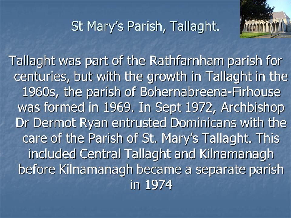 St Mary's Parish, Tallaght.St.