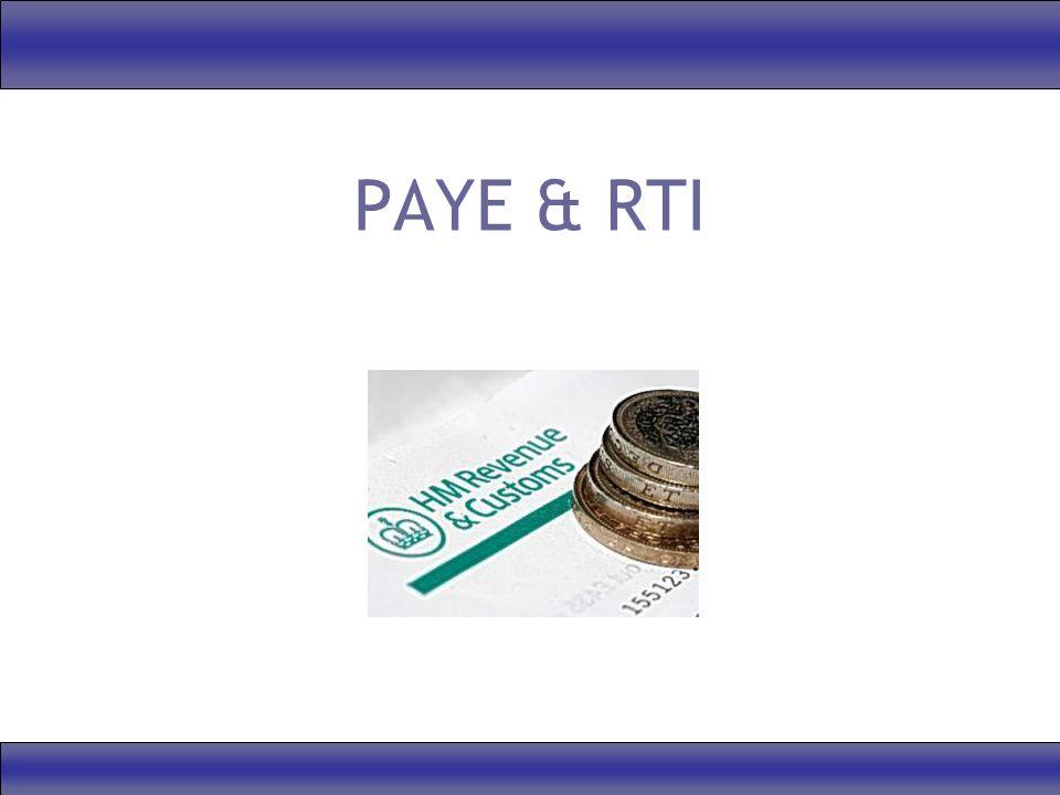 PAYE & RTI