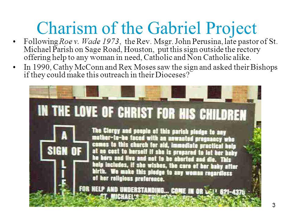 4 The Gabriel Project National Office Established December 12, 2002 Dr.