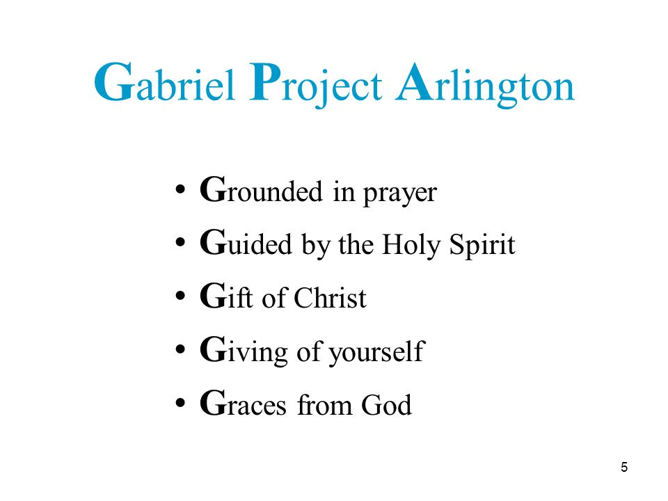 26 To Rome: The Gabriel Project for recognition as a Lay Ecclesial Movement.