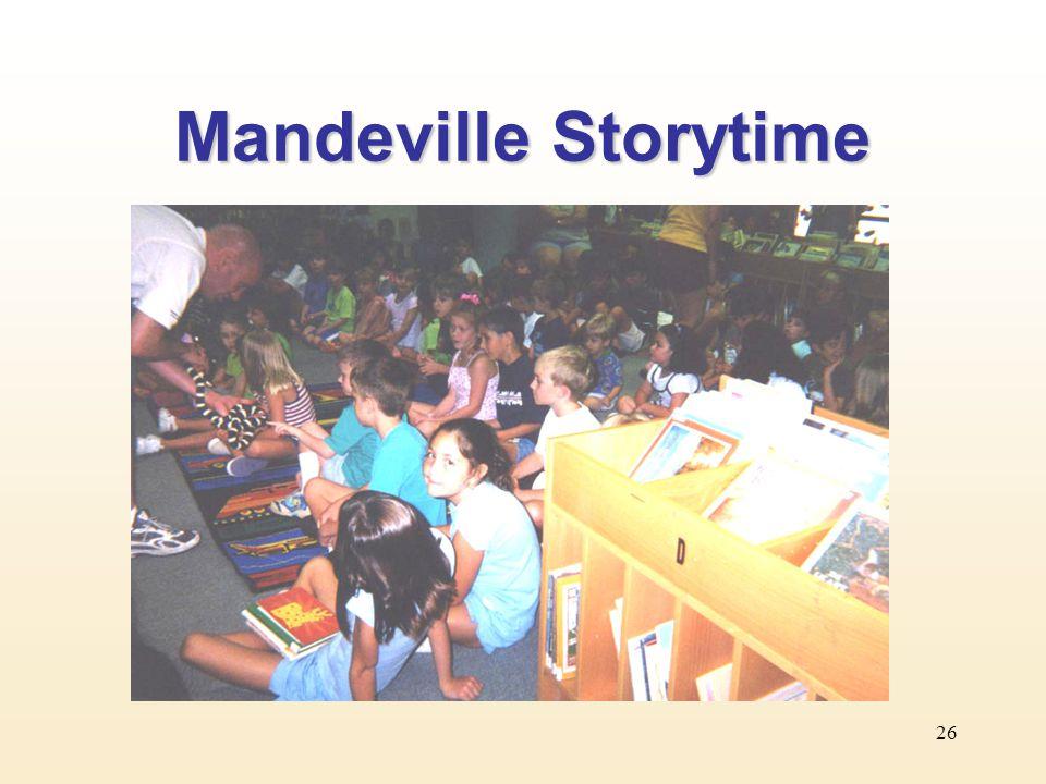 26 Mandeville Storytime