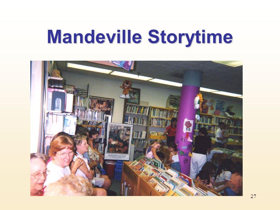 27 Mandeville Storytime