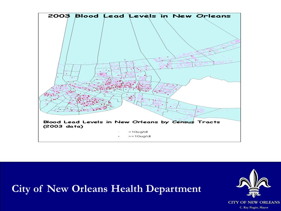 7 City of New Orleans Health Department