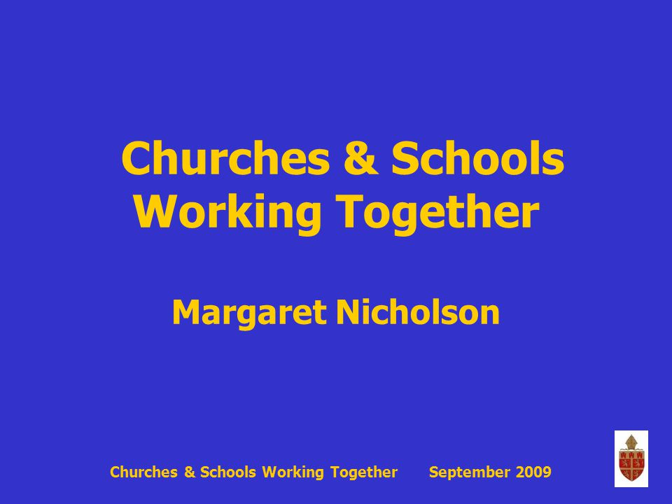 All clergy...will want to demonstrate their loving care for their Church school....