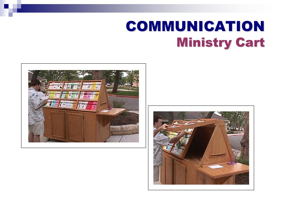 COMMUNICATION Ministry Cart
