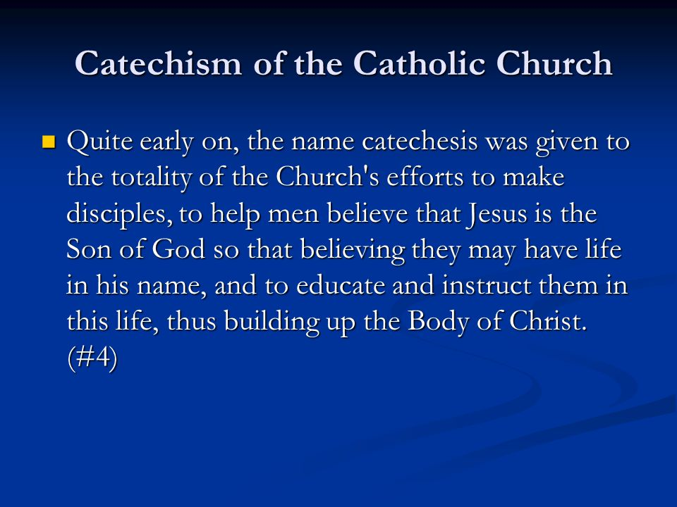Sacramental Preparation It is essential to have some training in sacramental theology.