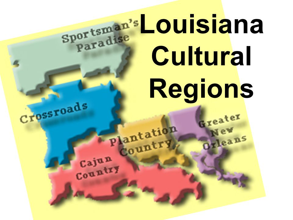 Louisiana Cultural Regions