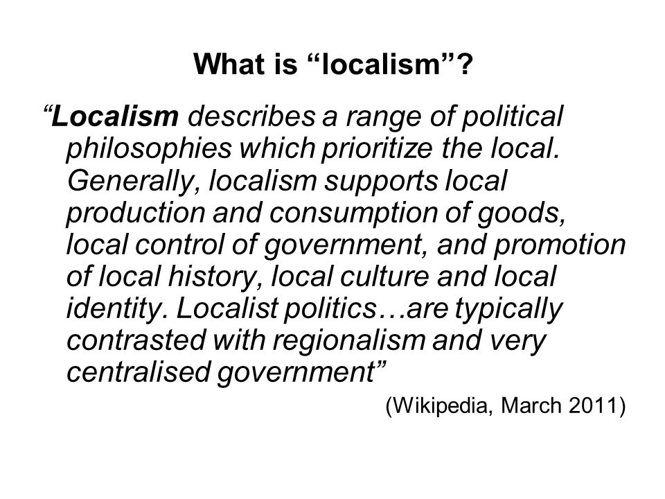 The Localism Act New freedoms and flexibilities for local government New rights and powers for local communities Reform to make the planning system clearer, more democratic and more effective Reform to ensure local housing decisions are taken locally