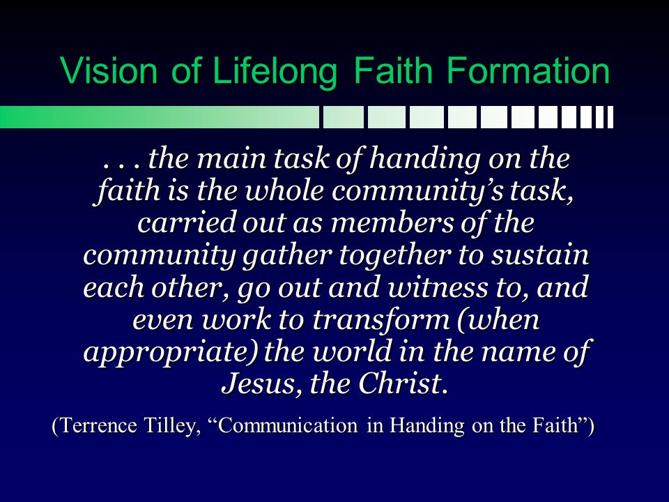 Lifelong: Whole Parish Connecting Faith, Worship, and Life Based upon the Gospel and the call of Pope Benedict XVI and his predecessors for a new evangelization and stronger catechetical effort, St.