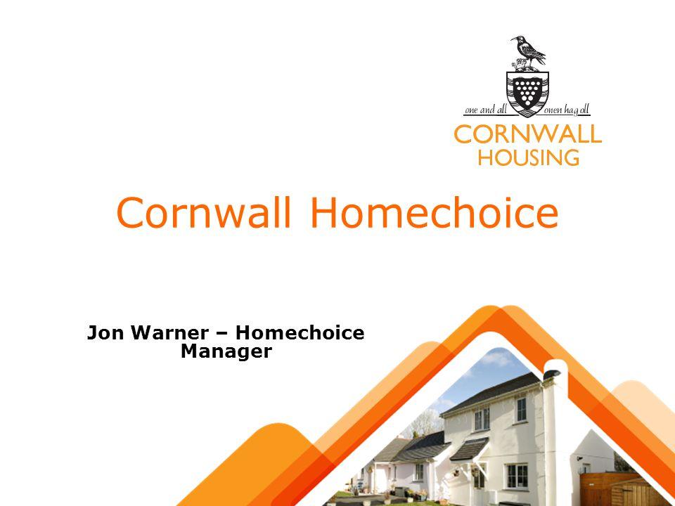 Cornwall Homechoice Jon Warner – Homechoice Manager