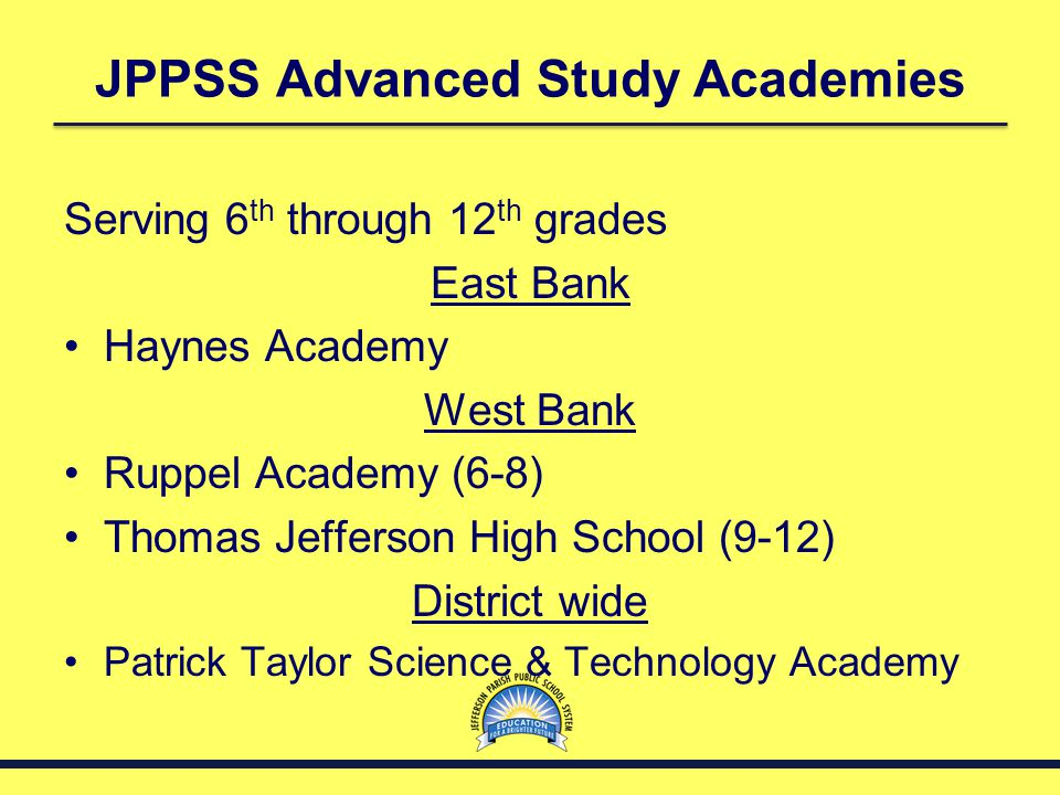 Other Important Information Admissions to Advanced Study Academies is handled exclusively by the ASA Admissions Office in the JPPSS Administration Building.