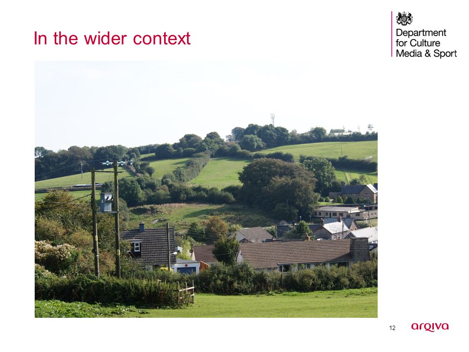 12 In the wider context