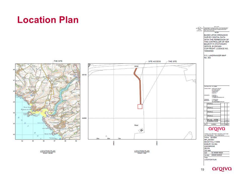 19 Location Plan