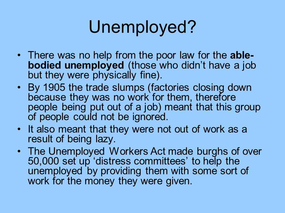Unemployed.