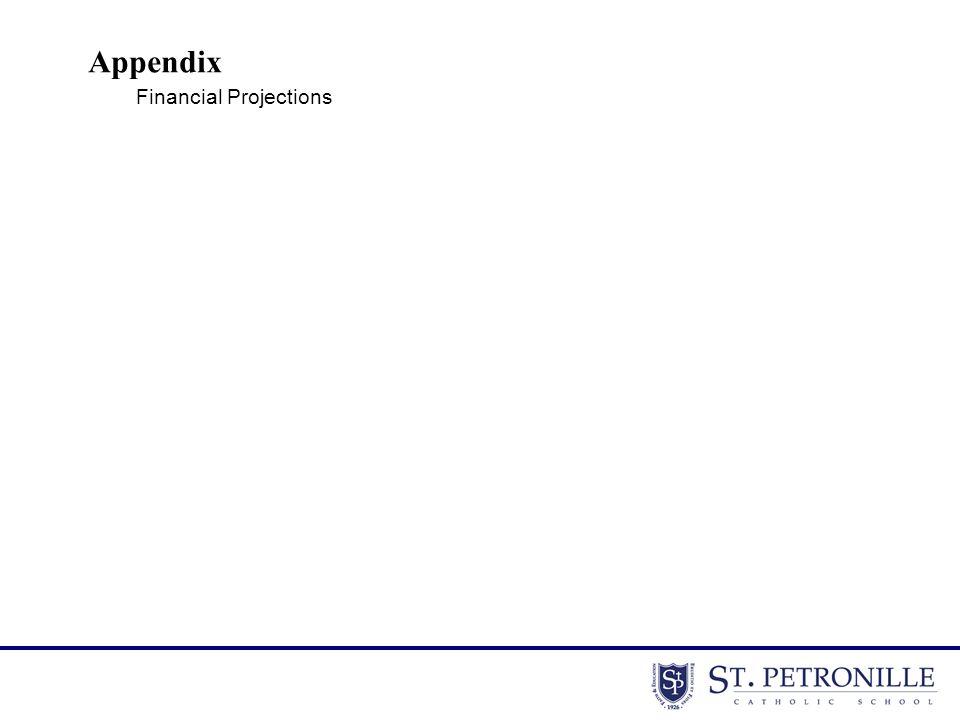 Appendix Financial Projections