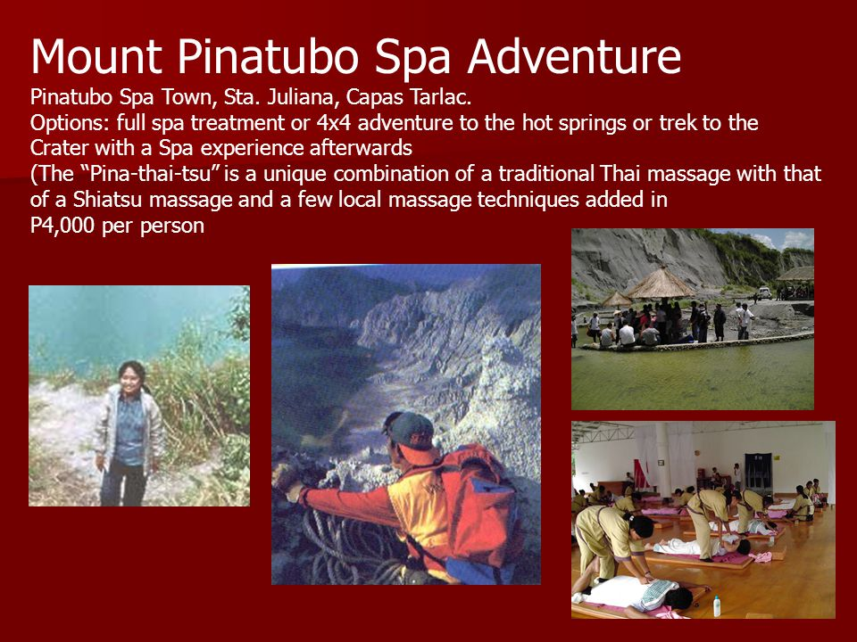 Mount Pinatubo Spa Adventure Pinatubo Spa Town, Sta.