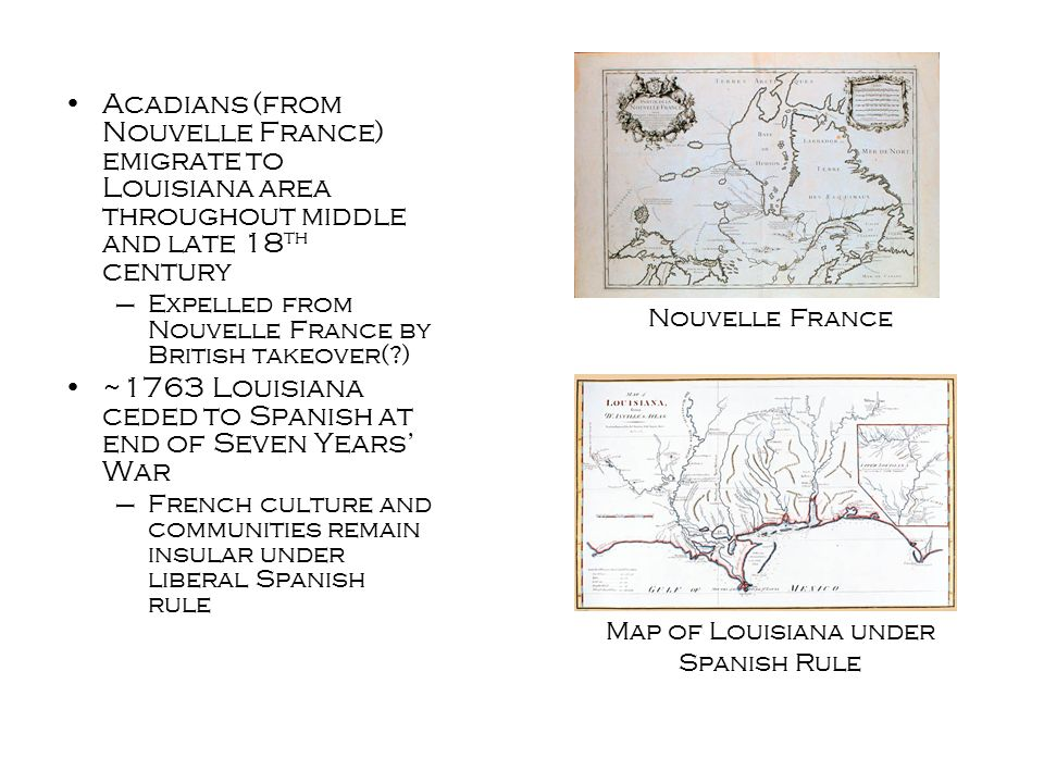 Sociolinguistic Variation Bilingual, trilingual+ language communities – English, Standard French (SF)/ Colonial French, Cajun (CF/LF), Louisiana Creole French (LFC/LC) –Many people speak at least two dialects fluently, usually more Language prestige continuum –LC at lowest end of overt prestige scale, which follows the categories as listed above Code-switching –Due to prestige differences, speakers usually switch in and out of LC and the other dialects to establish solidarity/construct themselves within society