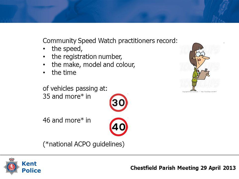 Chestfield Parish Meeting 29 April 2013 CSW SiteFirst Letter Second Letter 'Excessive' Letter Total Detections Letters / Detections Wateringbury991398 1,594 13.2% Halfway Houses54230 941 9.1% Teston40531 764 9.9% Lower Hardres1407 459 4.6% Chestfield10018 442 6.3% Littlebourne0021 277 7.6% Linton305 230 3.5% Yalding404 205 3.9% B'ton Aluph & E'well603 186 4.8% Staplehurst203 169 3.0% Elham604 139 7.2% Bekesbourne1013 136 10.3% Chart Sutton202 132 3.0% B'ton Malherbe7110 142 12.7% Cliffe Woods101 90 2.2% Otford003 88 3.4% Minster-on-Sea004 87 4.6% Hadlow201 77 3.9% Hollybush002 66 3.0% E Malling & L'field102 64 4.7% Laddingford204 56 10.7% Minster001 55 1.8% B'ton-under-Blean103 53 7.5% Lenham200 43 4.7% Shipbourne310 41 9.7% Smeeth002 40 5%