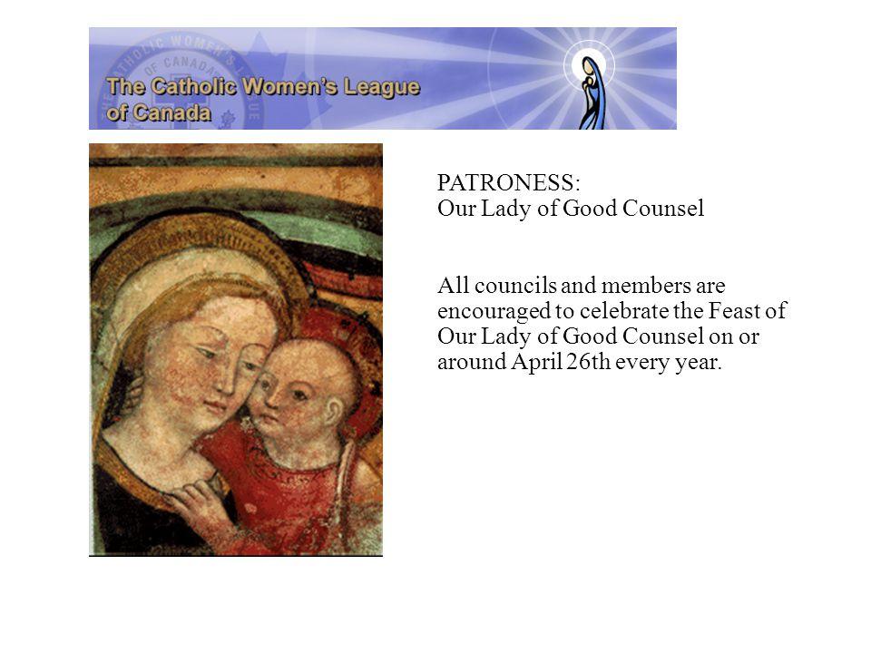 Membership – Good to Know...Non-Catholic women can be Associate members.