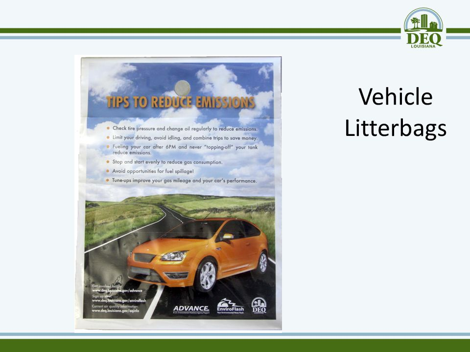 Vehicle Litterbags