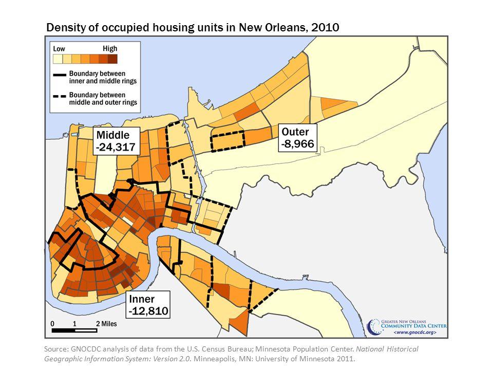 Source: GNOCDC analysis of data from the U.S.Census Bureau; Minnesota Population Center.