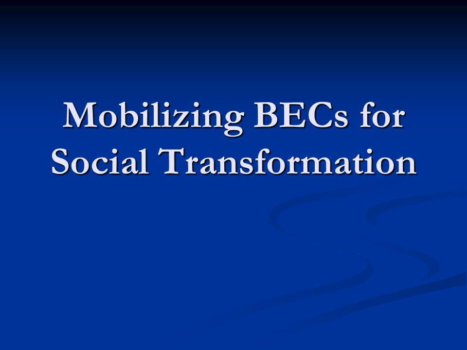 Mobilizing BECs for Social Transformation