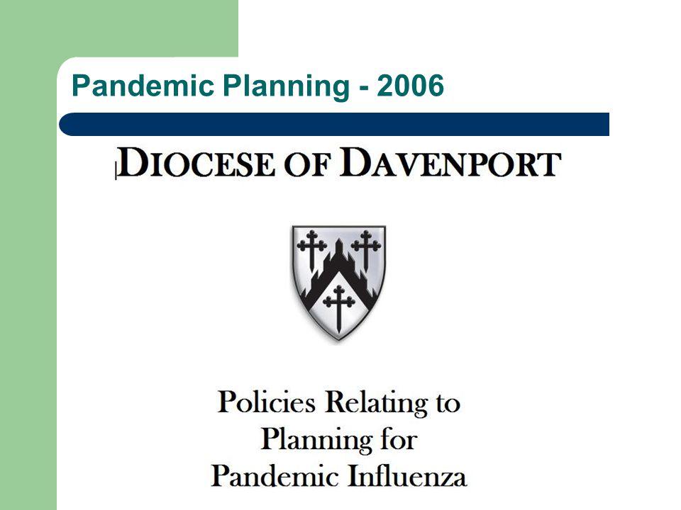 Pandemic Planning - 2006