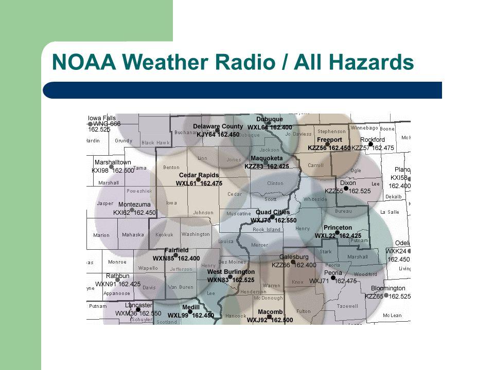NOAA Weather Radio / All Hazards
