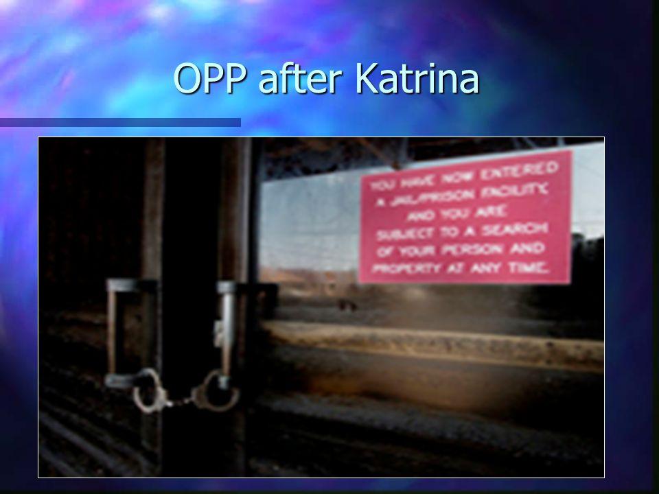 OPP after Katrina