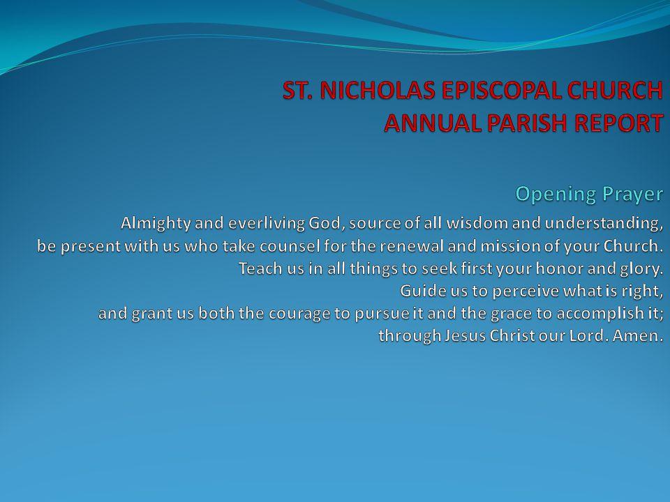 Worship Accomplishments in 2008-2009: Called new Music Director – Steven Carman (Nov.