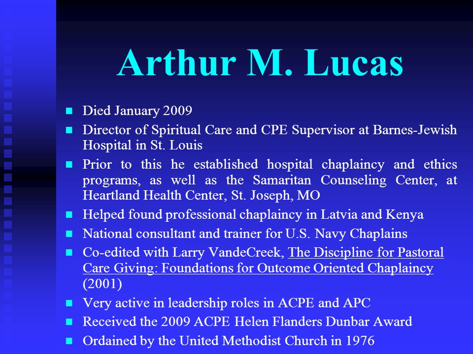 Arthur M.