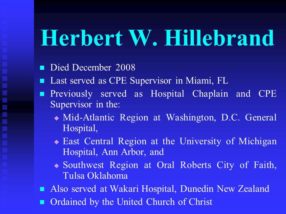 Herbert W.