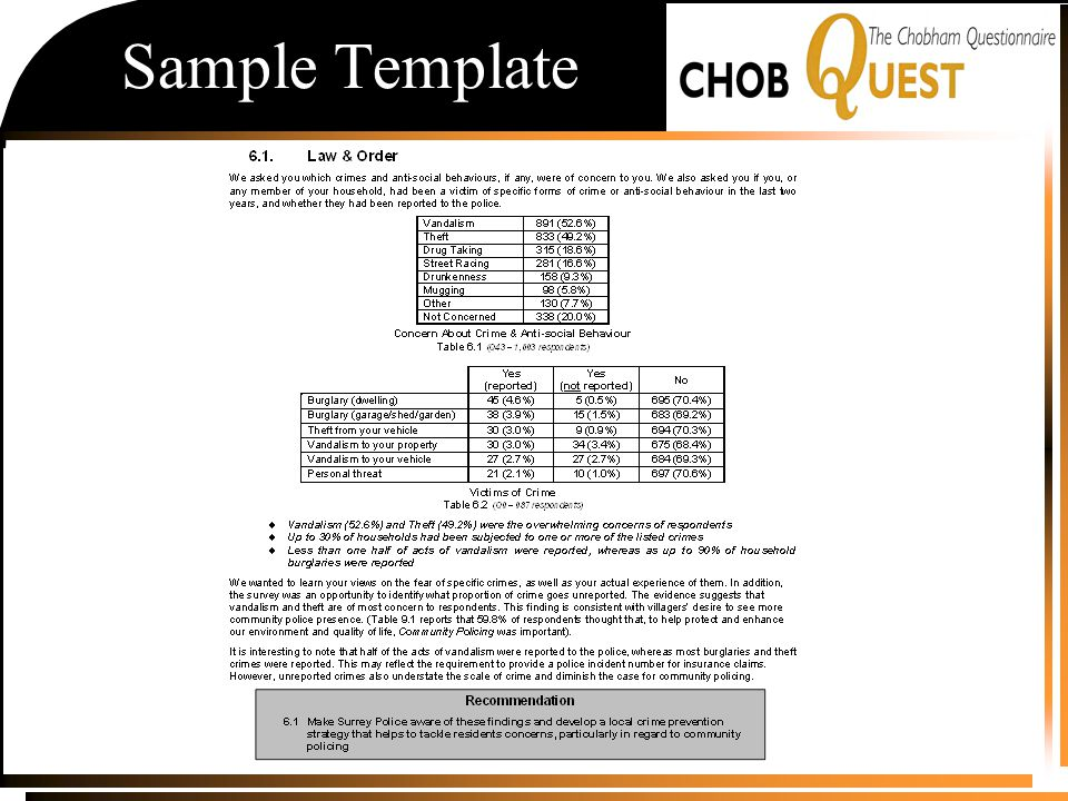 Sample Template