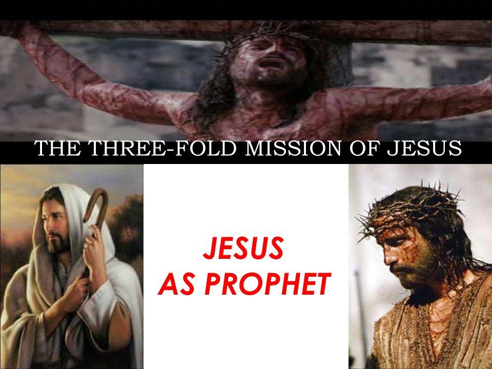 JESUS AND HIS THREEFOLD MISSION JESUS AS PRIEST
