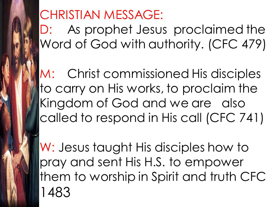 But what kind of a king is Jesus.Why did the people of His time not recognize His kingship.