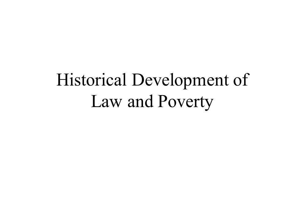 Colonial Poor Laws