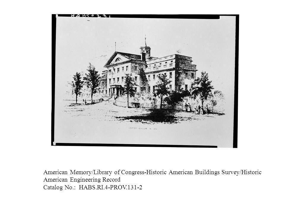American Memory/Library of Congress-Historic American Buildings Survey/Historic American Engineering Record Catalog No.: HABS.RI.4-PROV.131-1