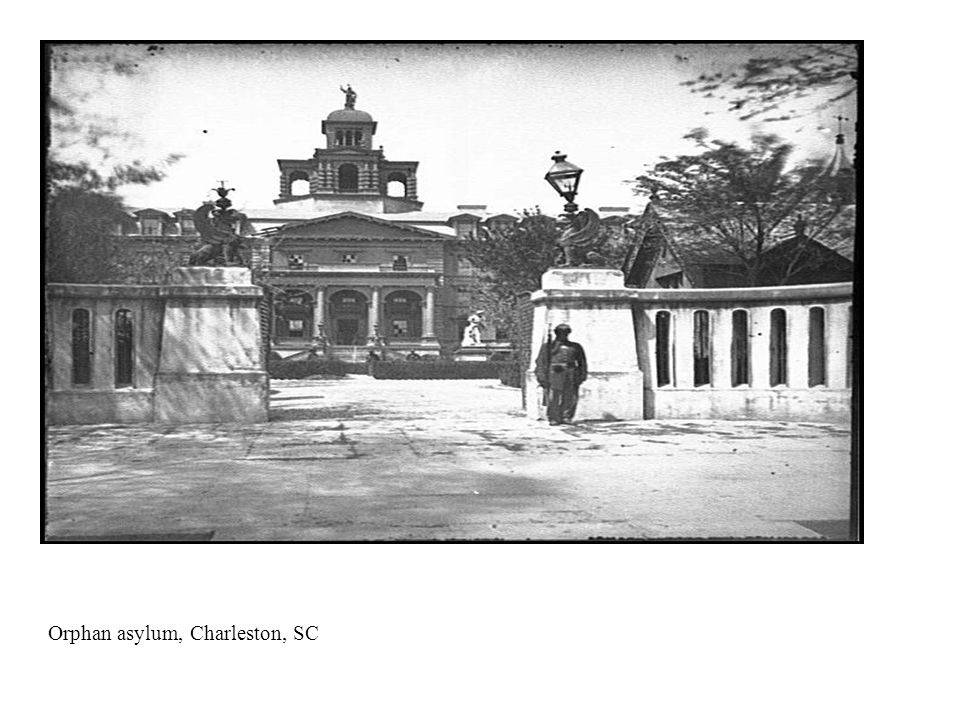 New Orleans female orphan asylum and Margaret Monument, pic taken 1890