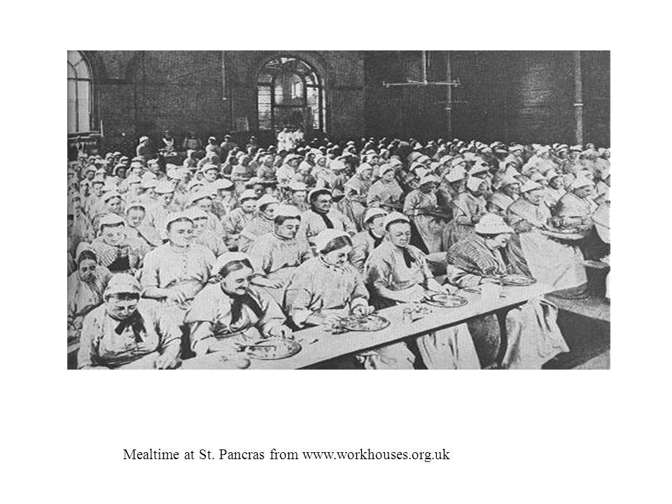 Men in workhouse