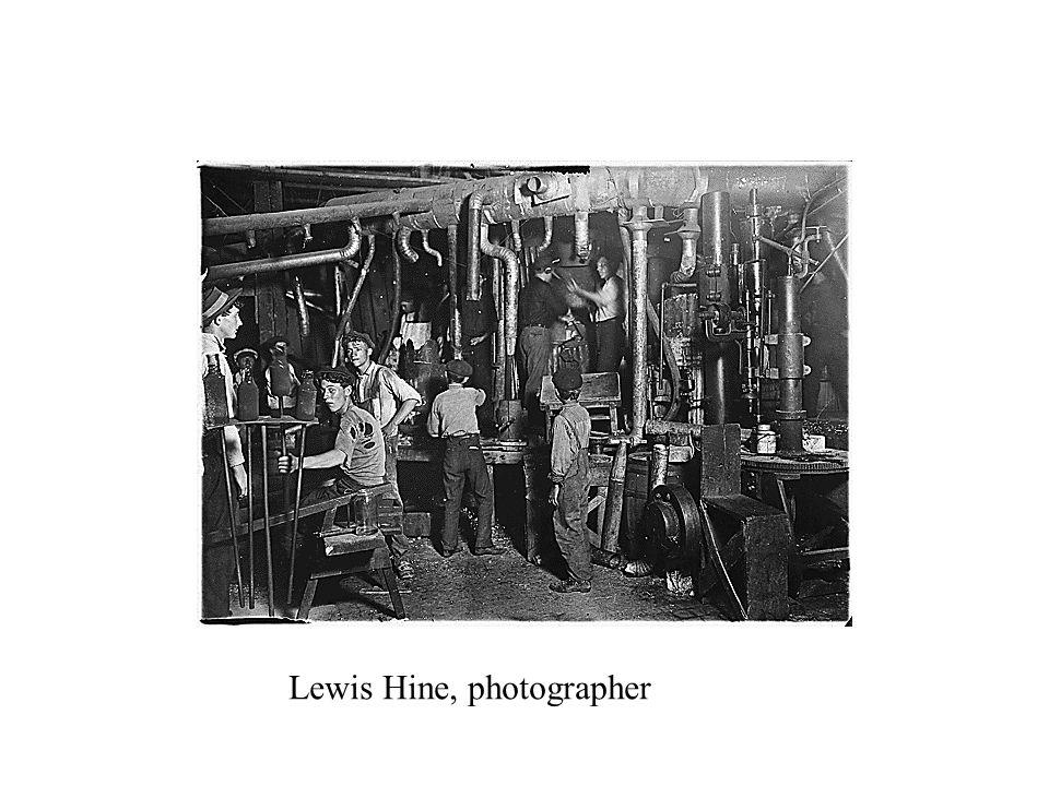 Lewis Hine, photographer